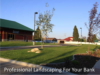 Landscaping For Banks and Credit Unions