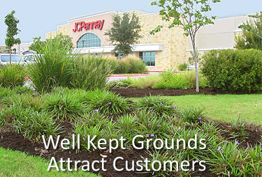 Landscaping For Shopping Plazas and Malls